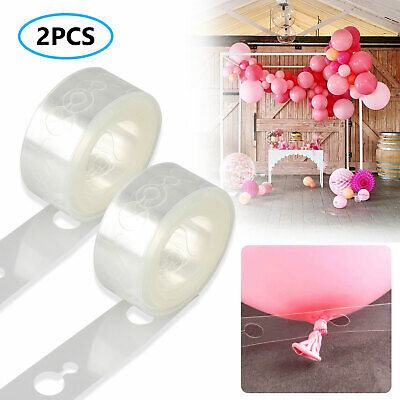 2PCS Balloon Arch Tape for Decorations Wedding Party Wedding Birthday
