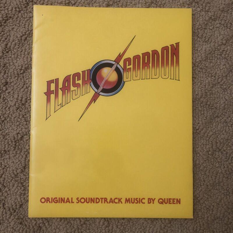 Flash Gordon Queen press packet