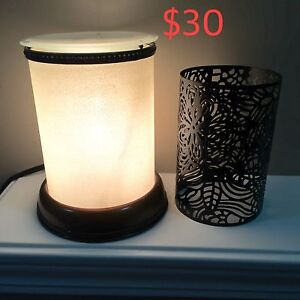Scentsy burner with insert and scent bars