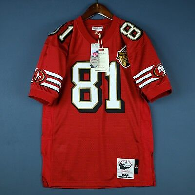 100% Authentic Terrell Owens 49ers Mitchell   Ness NFL Jersey Size 52 2XL  Mens 379d44473
