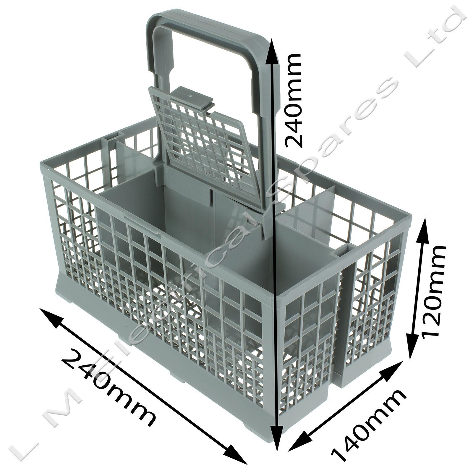 Universal Dishwasher Cutlery Basket for Bosch Neff Hotpoint Siemens Smeg - Gray