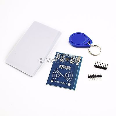 RFID - NEW MFRC-522 13.56MHz RFID Reader for Arduino + Card / Key Tags + cables