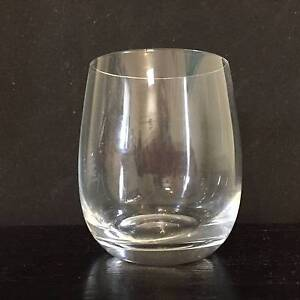 RONA Lead-free crystal wine glass/tumbler/whisky cup. NEW/Boxed Summer Hill Ashfield Area Preview
