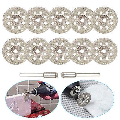 10PCS Diamond Cutting Wheel Saw Blades Cut Off Discs Set for Dremel...