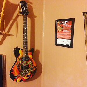 vince neil limited edition electric guitar