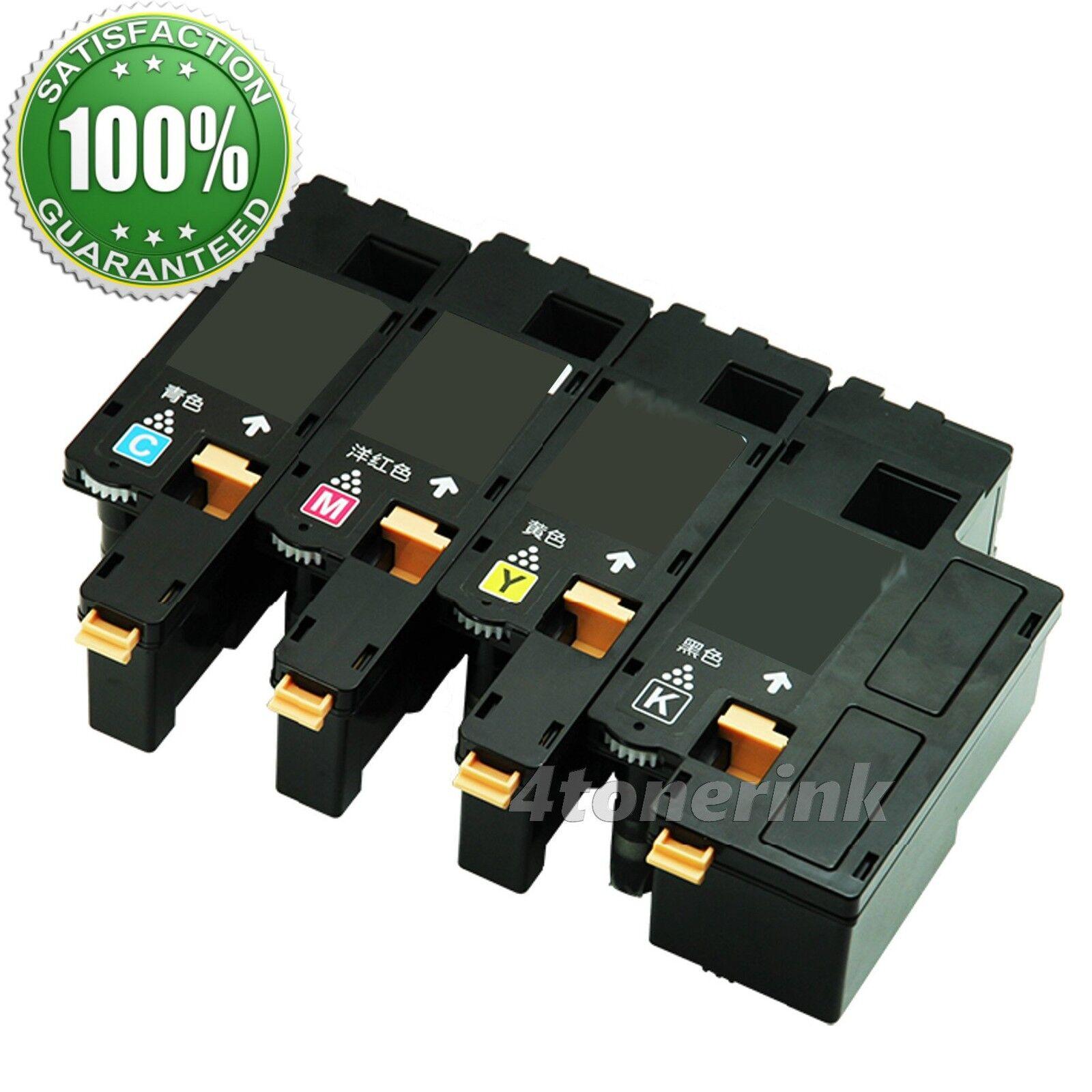 4pk Color Toner Cartridges For Dell E525W 593-BBJU 593-BBJV 593-BBJW 593-BBJX