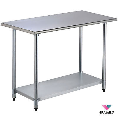 24 X 48 Stainless Steel Commercial Work Food Prep Table Kitchen Restaurant