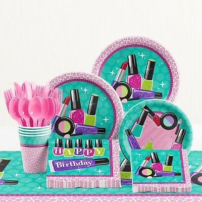 Sparkle Spa Birthday Party Supplies Kit