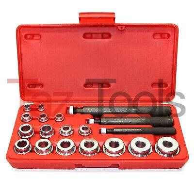 20 Pc Bushing Seal Installer Remover Bearing Race Set Driver Tool Kit -