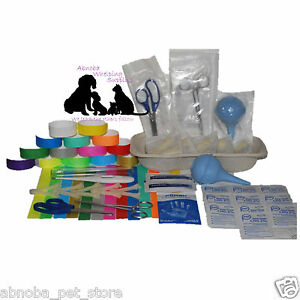 Abnobas Choice Plus Complete Whelping Kit Puppy Kitten Welping Guide 67 + Items