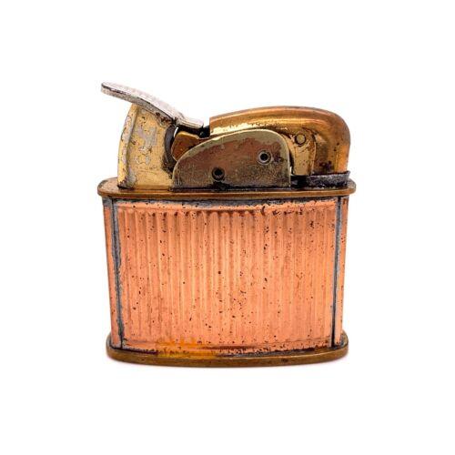 VTG Estate Evans Fuel Brass Pocket Lighter! 236