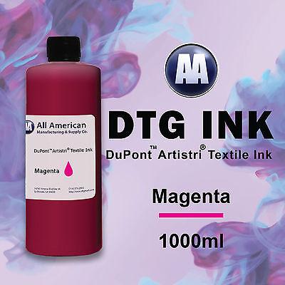 Dtg Ink Mangenta 1000ml Dupont Artistri Ink For Direct To Garment Printers Ink