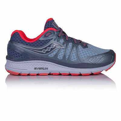 Saucony Womens Echelon 6 Running Shoes Trainers Sneakers Blue Sports Breathable