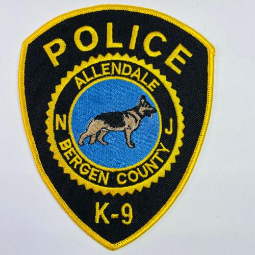 Allendale Police K9 Canine Dog Bergen County New Jersey NJ Patch (A5A)