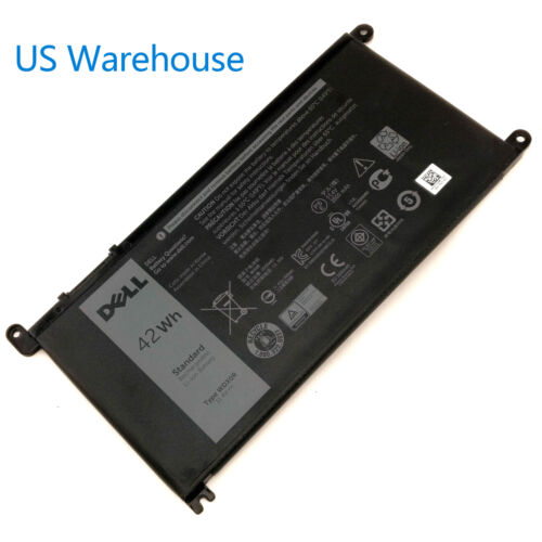 OEM Genuine DELL Inspiron Battery WDX0R 42Wh 15 5567 5568 13 5368 7368 7569 7579