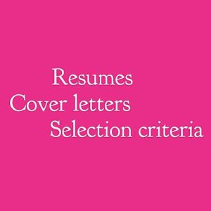 RESUMES, COVER LETTERS & SELECTION CRITERIA | From $50 Brisbane Region Preview
