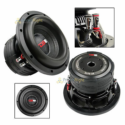 Ds18 Elite Z8 8  Subwoofer Dual 4 Ohm 900 Watts Max Bass Sub Speaker Car