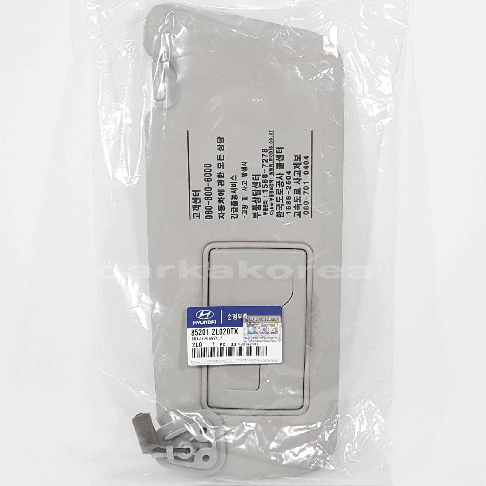 OEM Genuine 852012L520TX  Front  Inside Sun Visor LH For Hyundai i30 ; i30cw