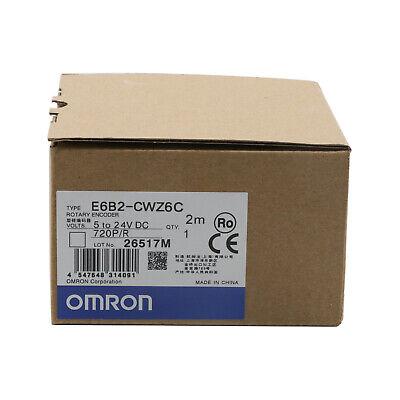 Omron Rotary Encoder E6b2-cwz6c 720pr New In Box One Year Warranty