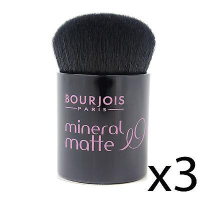 Foundation Kabuki Brush Bourjois Matte Mineral Powder Makeup Applicator 3 Pack