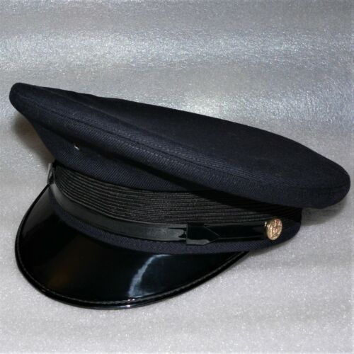 TANEN CAP CO. NY USA ~ VINTAGE UNIFORM DRESS CAP / CORRECTIONS ~ Size M ~ Ex Con