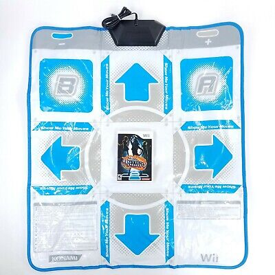 Dance Dance Revolution DDR: Hottest Party Dance Pad & Game (Nintendo Wii, 2007) for sale  Shipping to India