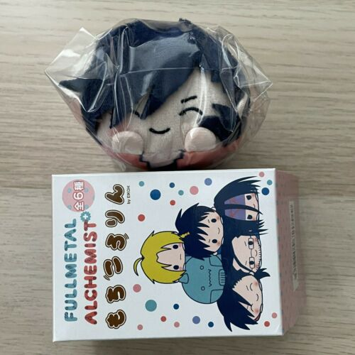 FULLMETAL ALCHEMIST SANRIO Mochi Kororin Ling Greed Plush Keychain Japan New