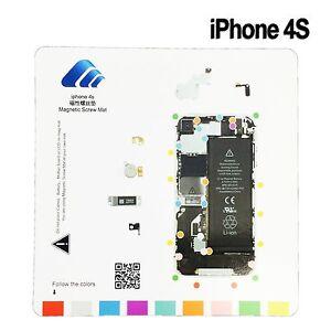Magnetic Screw Mat Repair Assembly Tool Screwmat for Apple iPhone 6S 6 5S 5 4S 4