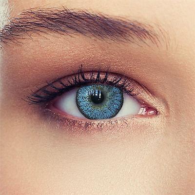 Natürliche blaue farbige Kontaktlinsen mit oder ohne Stärke Design: Natural Sky
