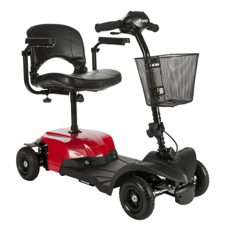 Drive Bobcat 4 Wheel Compact Transportable Lightweight Electric Mobility Scooter