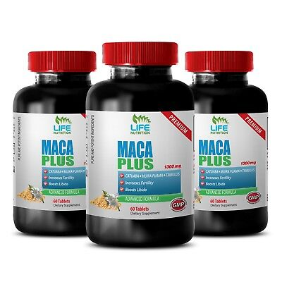 Supplements Increase Testosterone Levels (Maca Extract - Maca Premium 1275mg - Increase Testosterone Level Supplement)