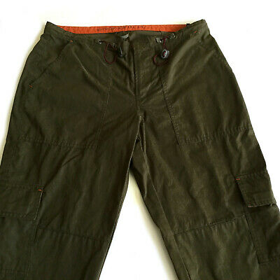 Abercrombie & Fitch AF-5 Olive Green Cargo Hiking Camping Outdoor Pants Size 6