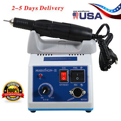 Dental Lab Marathon N3 Micromotor Electric35k Rpm Handpiece Polishing Kit Ups