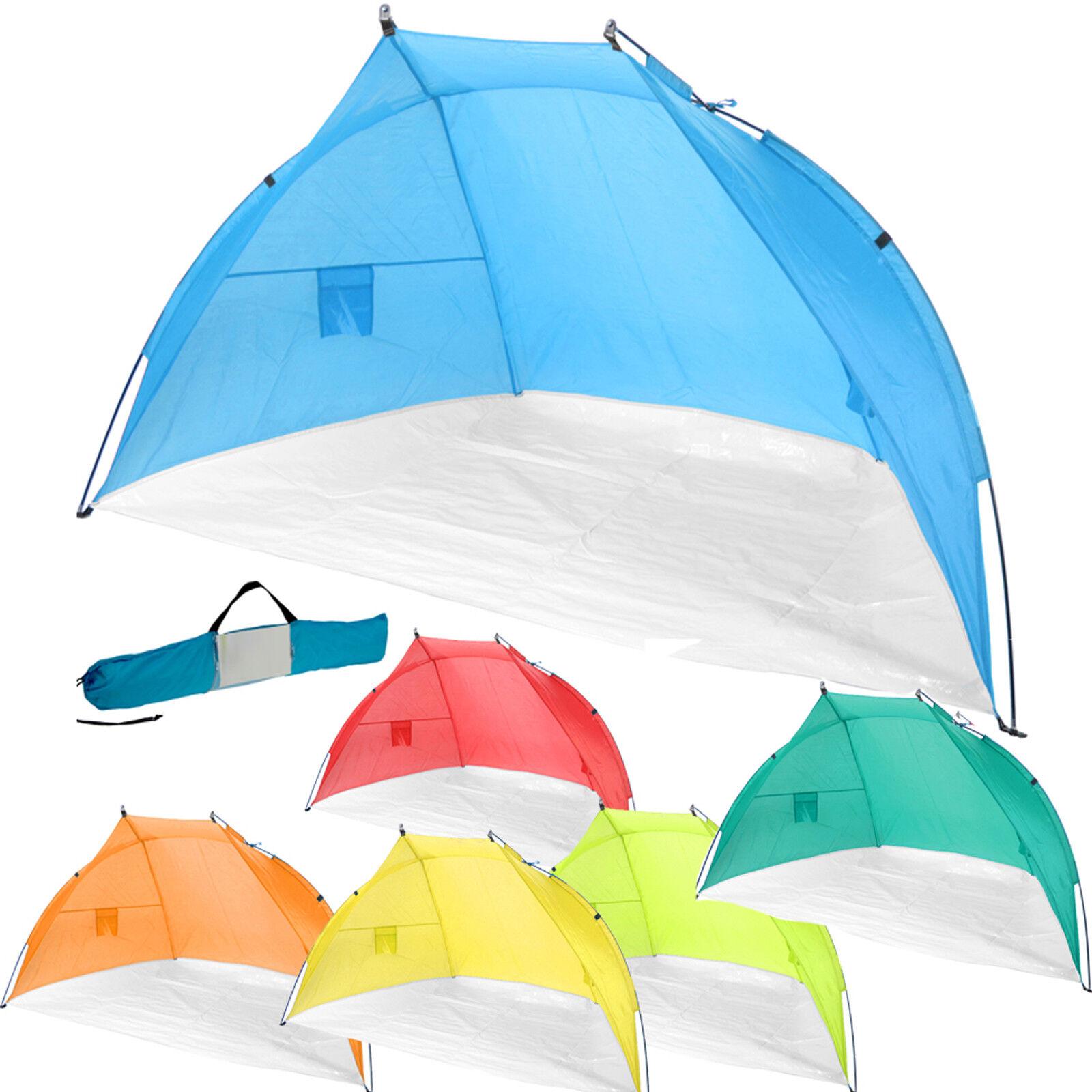 Strandmuschel  Wurfzelt Babyzelt Sonnenschutz Windschutz Zelt Strandzelt Strand