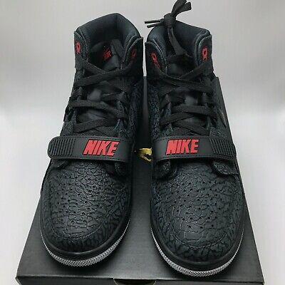 Nike Air Jordan Legacy 312 Men's Shoes Black / Black - Varsity Red AV3922-006