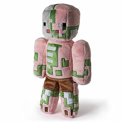 "Zombie Pigman 12"" Minecraft Soft Plush Toy"