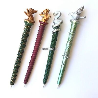 Potters Pen (4 PC Harry Potter Hogwarts Houses Pen Gryffindor Hufflepuff  Ravenclaw)