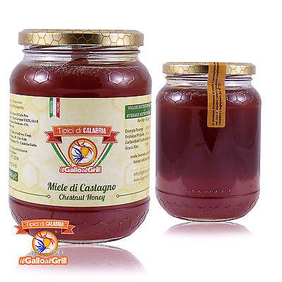 MIELE di CASTAGNO di Calabria - Lavorato a freddo - 1kg