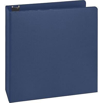 3 Ring Binder. 2 Binder Capacity. 8 12 X 11 Sheet Size. Blue.