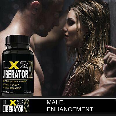 LX2 Liberator LX Male Enhancement Supplement Advanced Enhancing Pills for Men... 3