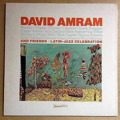 David Amran And Friends Latin Jazz Celebration Musician W L Promo M  M  Unplayed