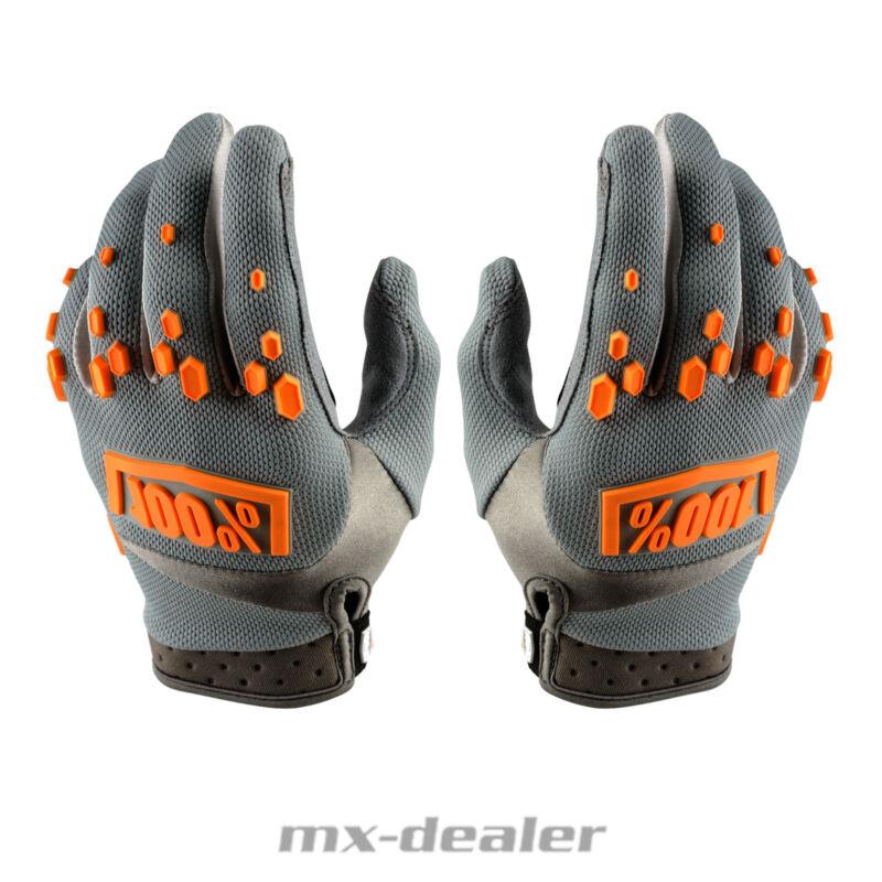 100/% Prozent Airmatic Handschuhe orange MTB DH MX BMX Motocross Enduro Quad 2018
