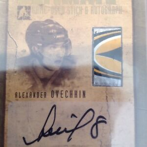 Hockey Cards Crosby Ovechkin Rookies Autographs Stick