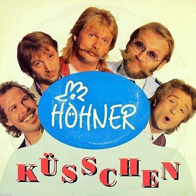 """7"""" HÖHNER Küsschen / Supermann ELECTROLA Köln Karneval PETER WERNER orig. 1990"""