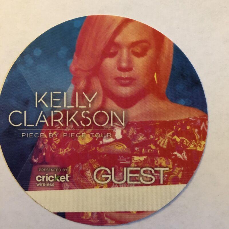 Kelly Clarkson Piece By Piece Tour Guest Backstage Pass Pop BLUE