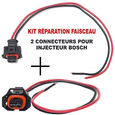 Reparación Toma Eléctrica Inyector Bosch Conector Fiat Alfa Romeo JTD