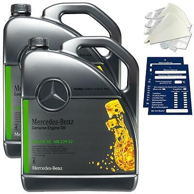 10 Liter Original Mercedes-Benz Motoröl 5W30 MB229.52 A000989950211AMED