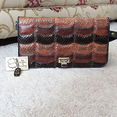Vintage 'Beverly' Leather Handbag