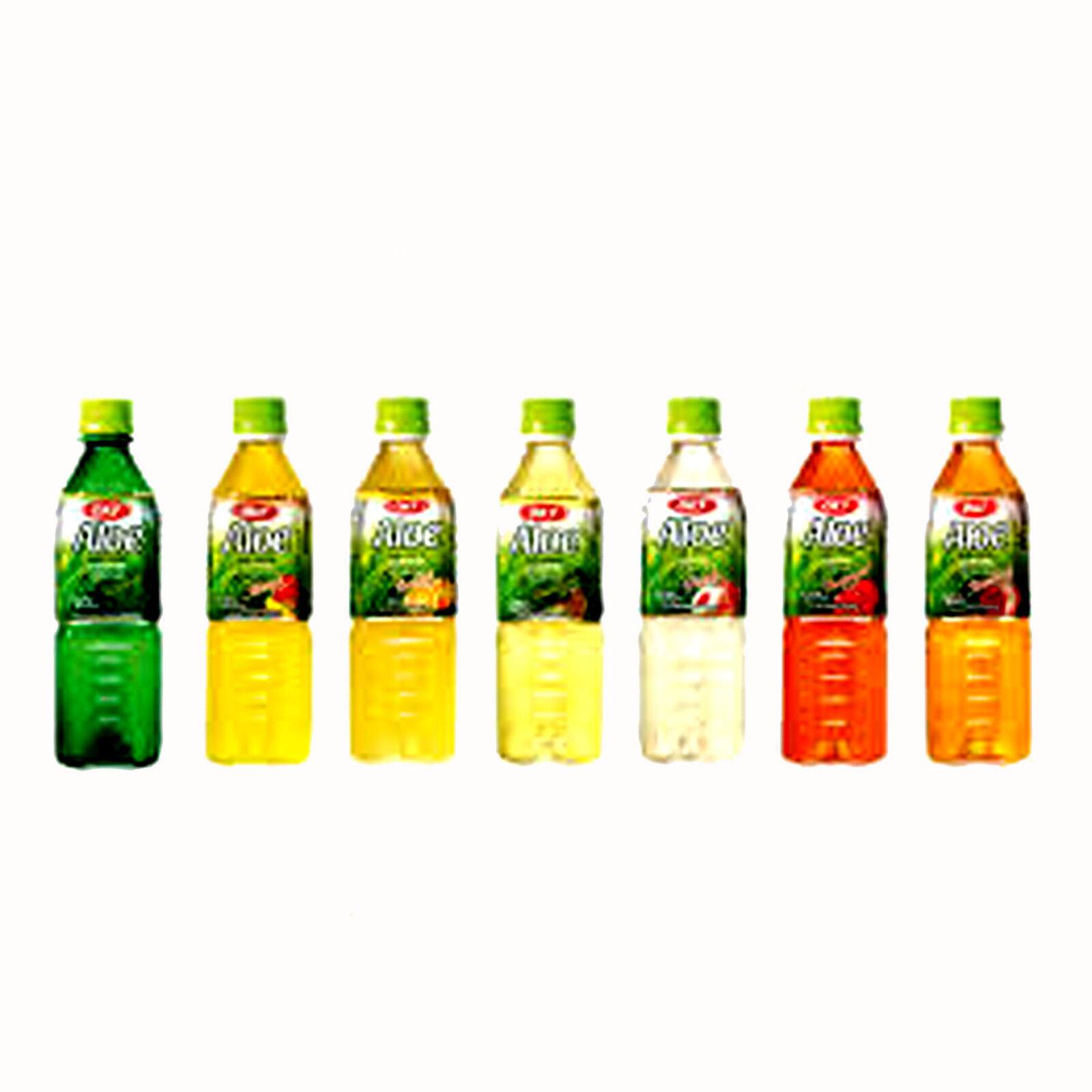 OKF Aloe Vera King Original 12 x 500ml Aloe Vera Getränk 6 Geschmacksrichtungen
