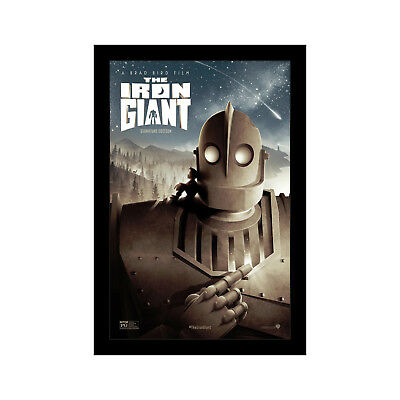 THE IRON GIANT - 11x17 Framed Movie Poster by Wallspace Giant Framed Poster